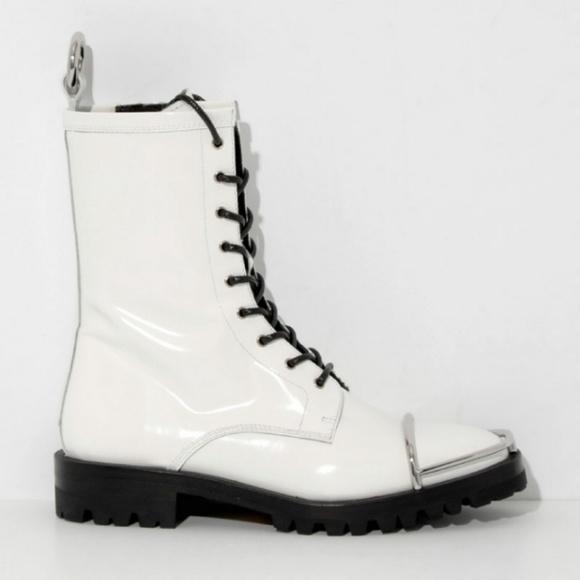 New Alexander Wang Kennah Combat Boots